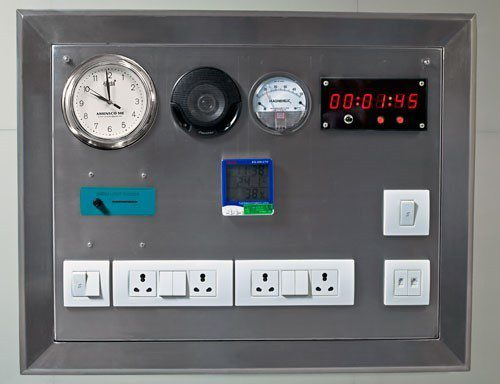 Şekil-1 Eski Nesil Ameliyathane Kontrol Paneli