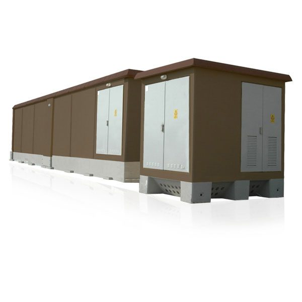 SPK E-House / Prefabricated Concrete Substation