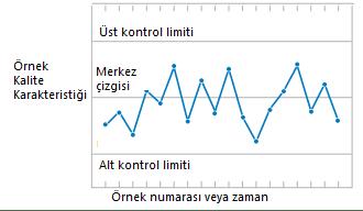 Şekil 10. Tipik Kontrol Grafiği